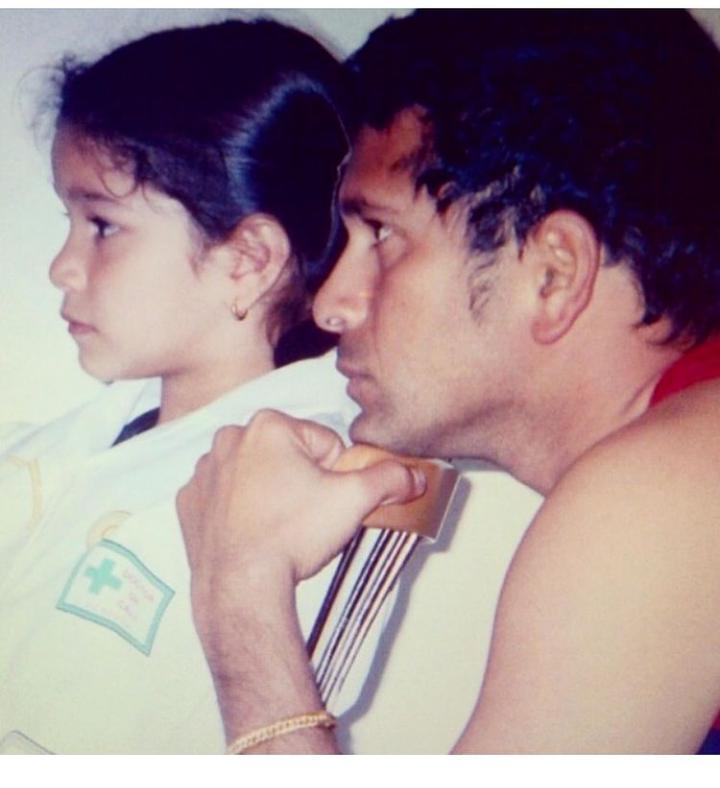 Sara Tendullkar mom and dad
